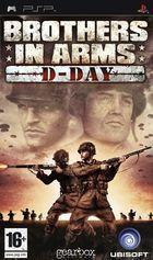 Portada oficial de de Brothers in Arms D-Day para PSP