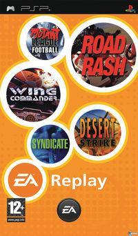 Portada oficial de EA Replay para PSP