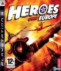 Portada oficial de Heroes Over Europe para PS3