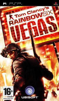 Portada oficial de Rainbow Six Vegas para PSP