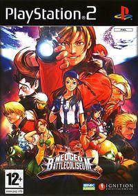 Portada oficial de Neo Geo Battle Coliseum para PS2