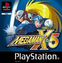 Portada oficial de Megaman X5 para PS One