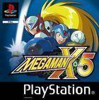 Portada oficial de de Megaman X5 para PS One