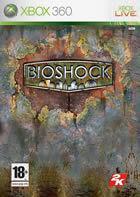 Portada oficial de de BioShock para Xbox 360