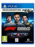 Portada oficial de de F1 2018 para PS4