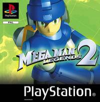 Portada oficial de Megaman Legends 2 para PS One