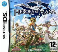Portada oficial de Heroes of Mana para NDS