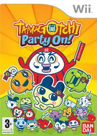 Portada oficial de Tamagotchi Party On! para Wii