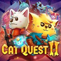 Portada oficial de Cat Quest II: The Lupus Empire para PS4