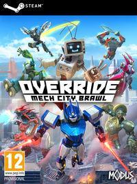 Portada oficial de Override: Mech City Brawl para PC