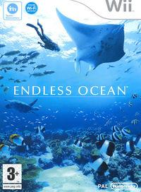 Portada oficial de Endless Ocean para Wii