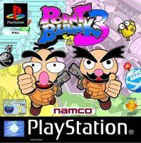 Portada oficial de Point Blank 3 para PS One
