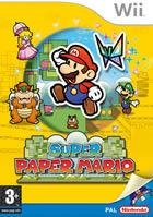 Portada oficial de de Super Paper Mario para Wii
