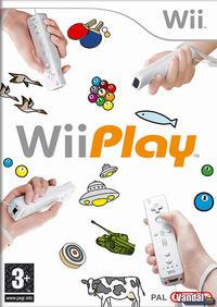 Portada oficial de Wii Play para Wii