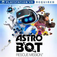 Portada oficial de Astro Bot Rescue Mission para PS4