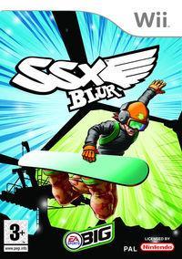 Portada oficial de SSX Blur para Wii