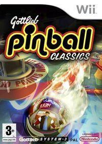 Portada oficial de Gottlieb Pinball Classics para Wii