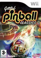 Portada oficial de de Gottlieb Pinball Classics para Wii