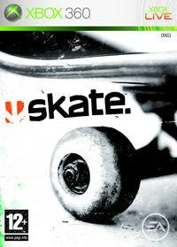Portada oficial de Skate para Xbox 360