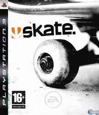 Portada oficial de Skate para PS3