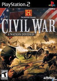 Portada oficial de The History Channel's Civil War para PS2