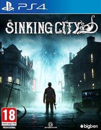 Portada oficial de The Sinking City para PS4
