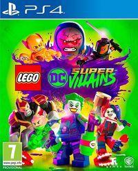 Portada oficial de LEGO DC Súper-Villanos para PS4