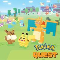 Portada oficial de Pokémon Quest para Switch