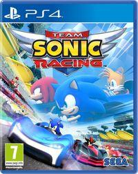 Portada oficial de Team Sonic Racing para PS4