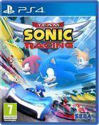 Portada oficial de de Team Sonic Racing para PS4