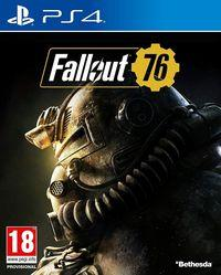 Portada oficial de Fallout 76 para PS4