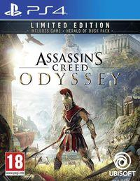 Portada oficial de Assassin's Creed Odyssey para PS4