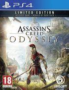 Portada oficial de de Assassin's Creed Odyssey para PS4