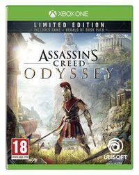 Portada oficial de Assassin's Creed Odyssey para Xbox One
