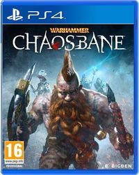 Portada oficial de Warhammer: Chaosbane para PS4