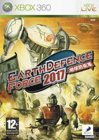 Portada oficial de Earth Defense Force 2017 para Xbox 360