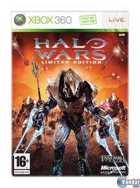 Portada oficial de Halo Wars para Xbox 360
