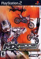 Portada oficial de de MX 2002 Featuring Ricky Carmichael para PS2