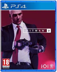 Portada oficial de Hitman 2 para PS4
