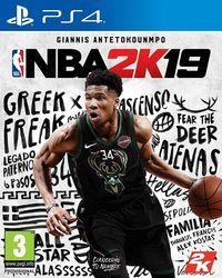 Portada oficial de NBA 2K19 para PS4