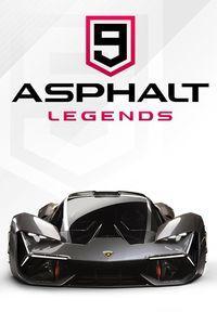 Portada oficial de Asphalt 9: Legends para PC