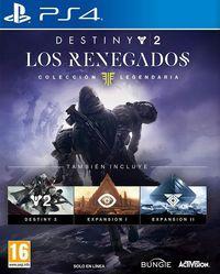 Portada oficial de Destiny 2: Los Renegados para PS4