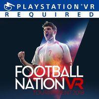 Portada oficial de Football Nation VR Tournament 2018 para PS4