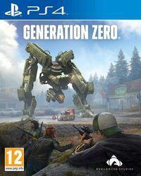 Portada oficial de Generation Zero para PS4