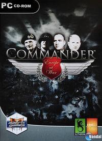 Portada oficial de Commander - Europe at War para PC