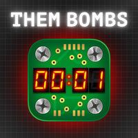 Portada oficial de Them Bombs! para Switch