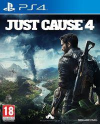 Portada oficial de Just Cause 4 para PS4