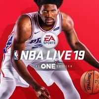 Portada oficial de NBA Live 19 para PS4