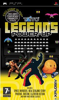 Portada oficial de Taito Legends Power Up para PSP