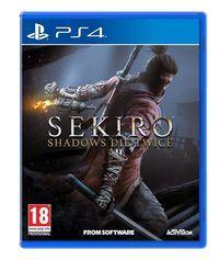 Portada oficial de Sekiro: Shadows Die Twice para PS4